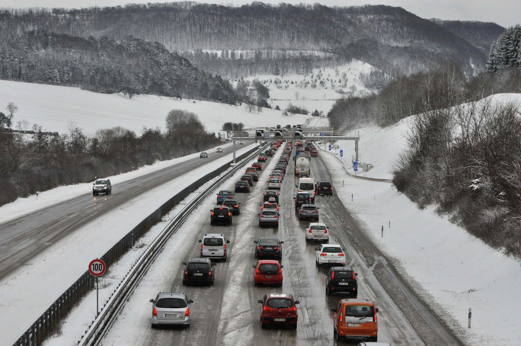 Bild zu Schnee in NRW