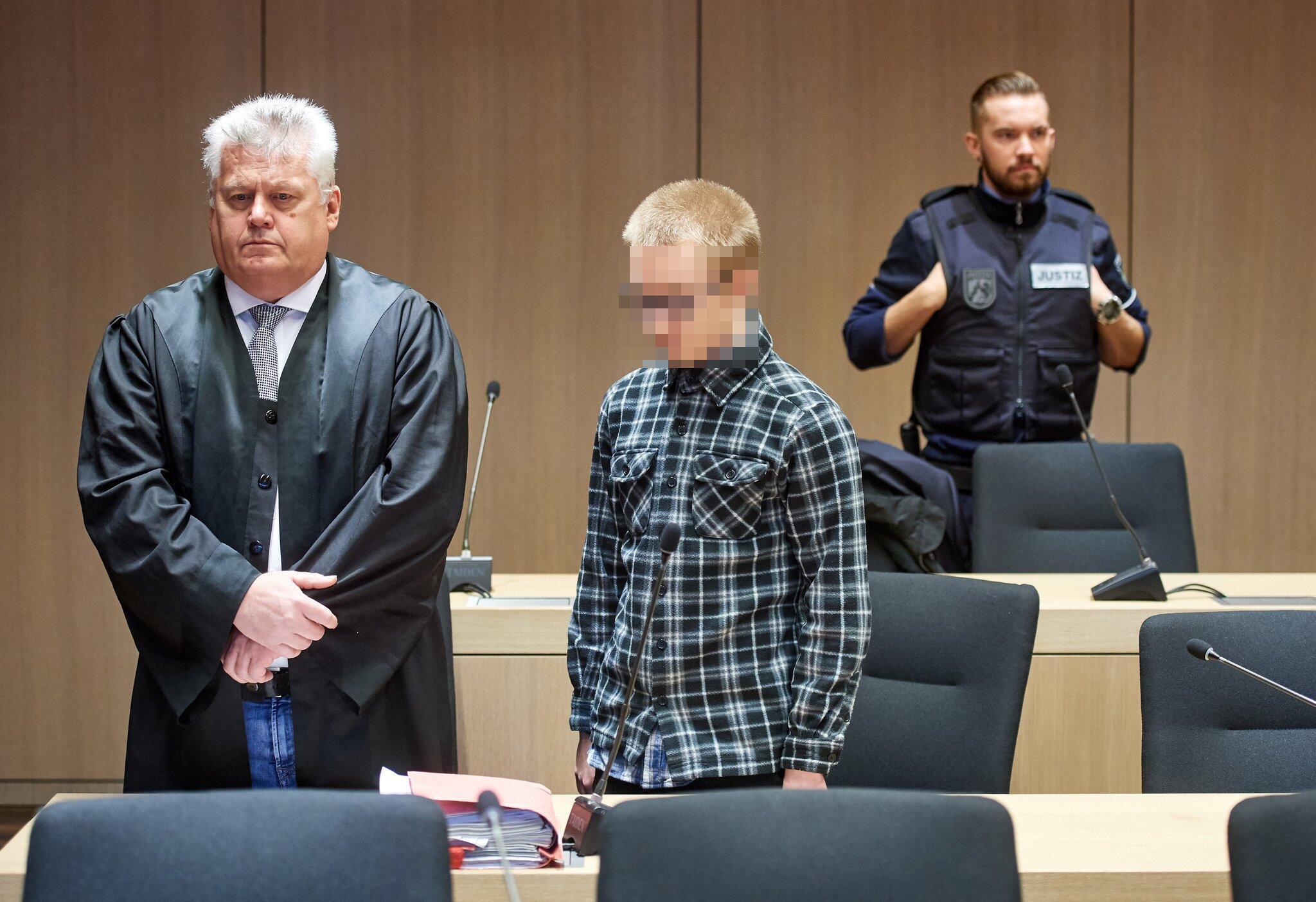 Bild zu Double murder trial against Marcel H. from Herne