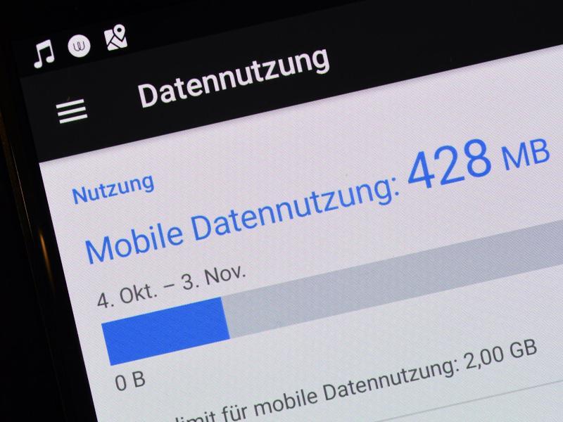 Bild zu Clever mobiles Datenvolumen sparen