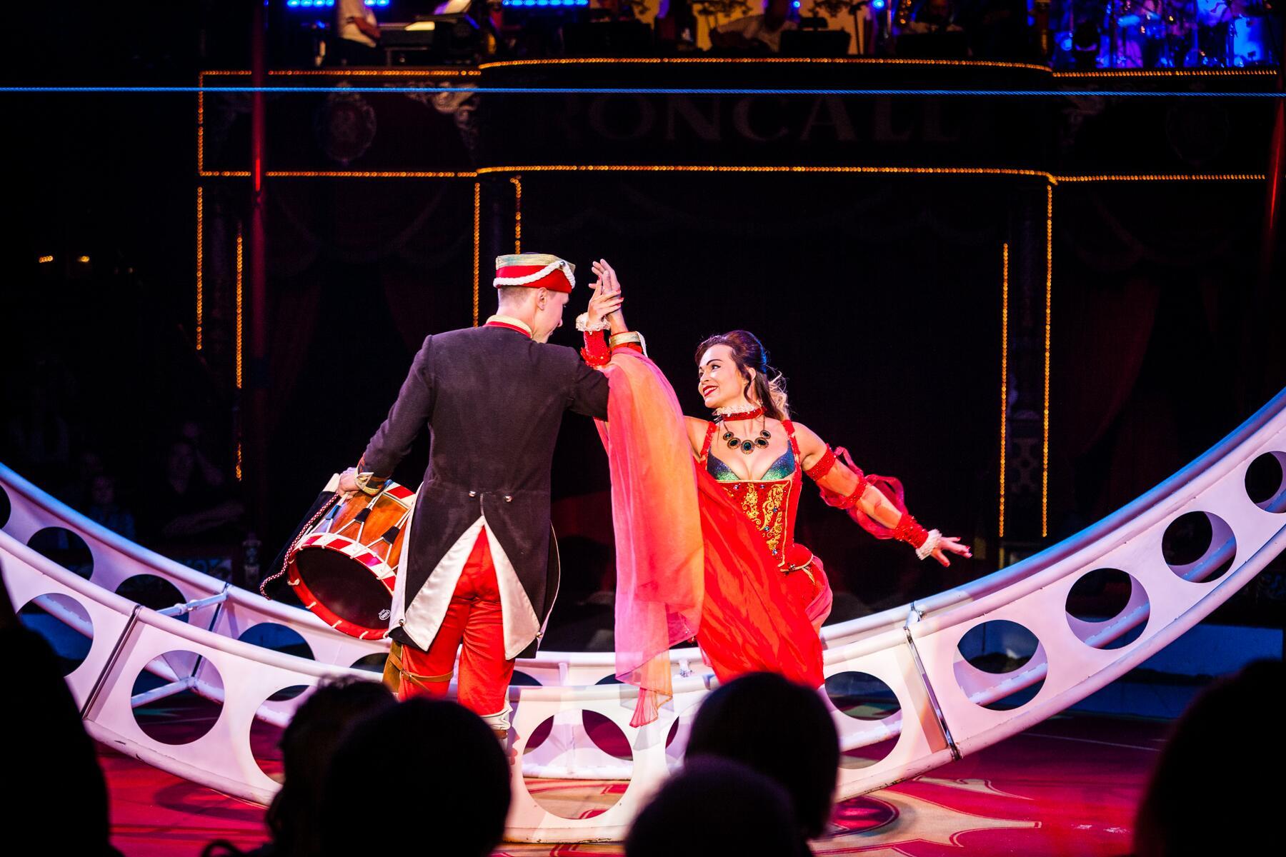 Bild zu Zirkus, Duo