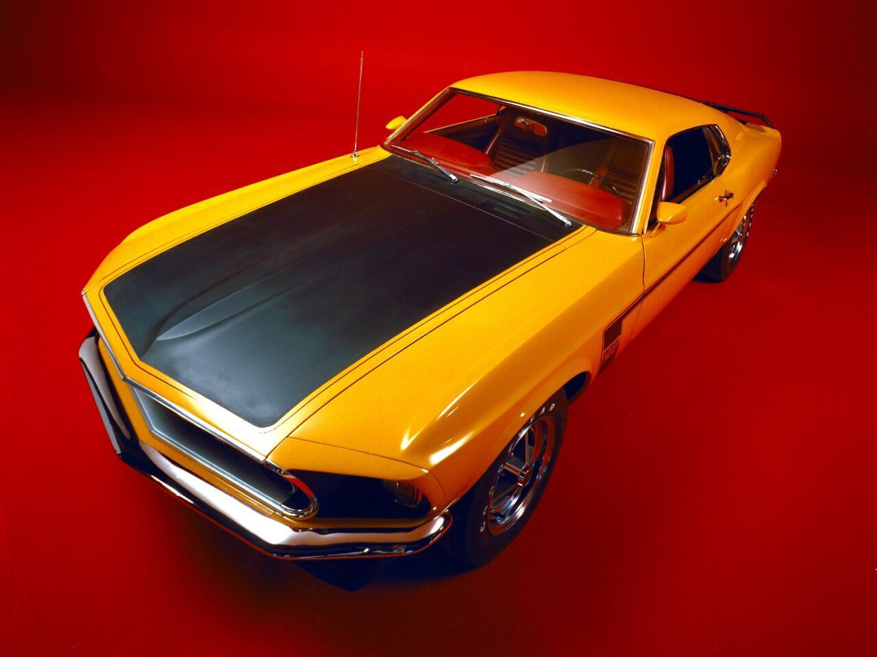 Bild zu Ford Mustang Boss 302 von 1969