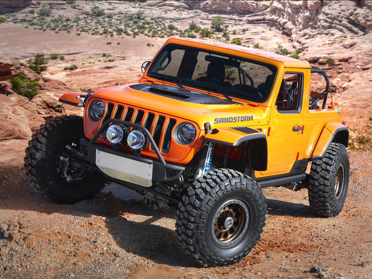 Bild zu Jeep Sandstorm Concept