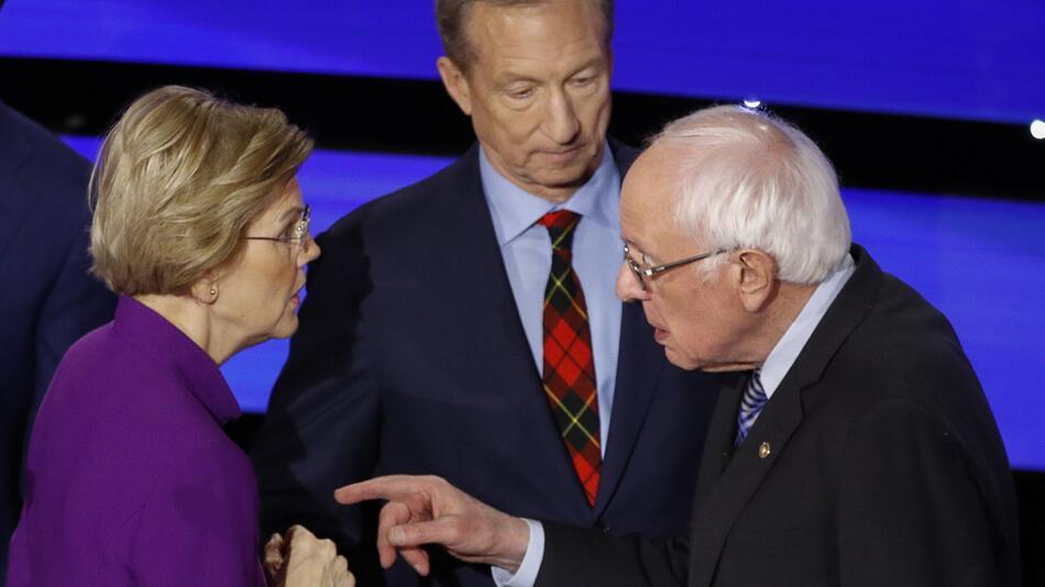 Letzte TV-Debatte der demokratischen Präsidentschaftsbewerber