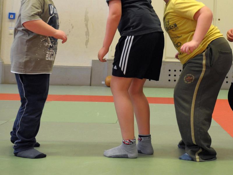 Bild zu Übergewichtige Schulkinder