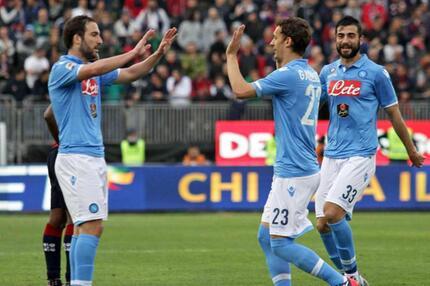 Cagliari Calcio - SSC Neapel