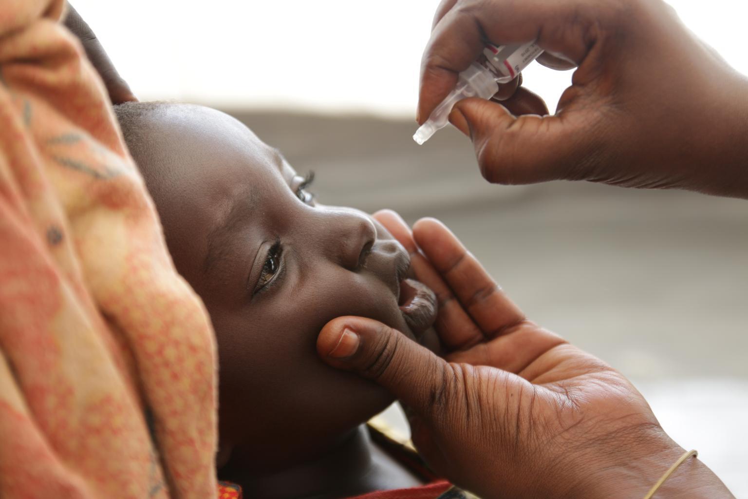 Bild zu Welt-Polio-Tag, Kinderlähmung, Impfungen