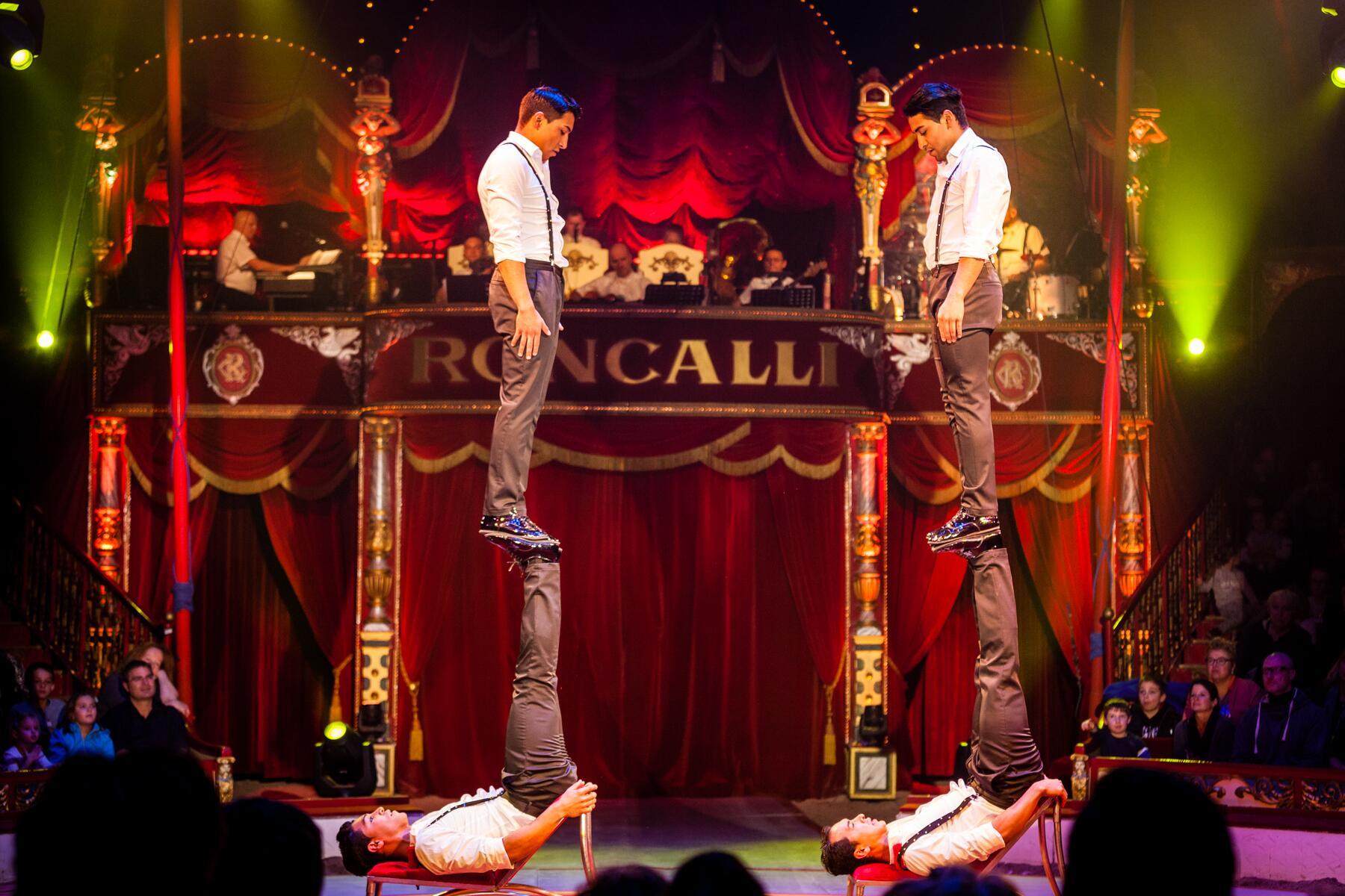 Bild zu Zirkus, Akrobatik
