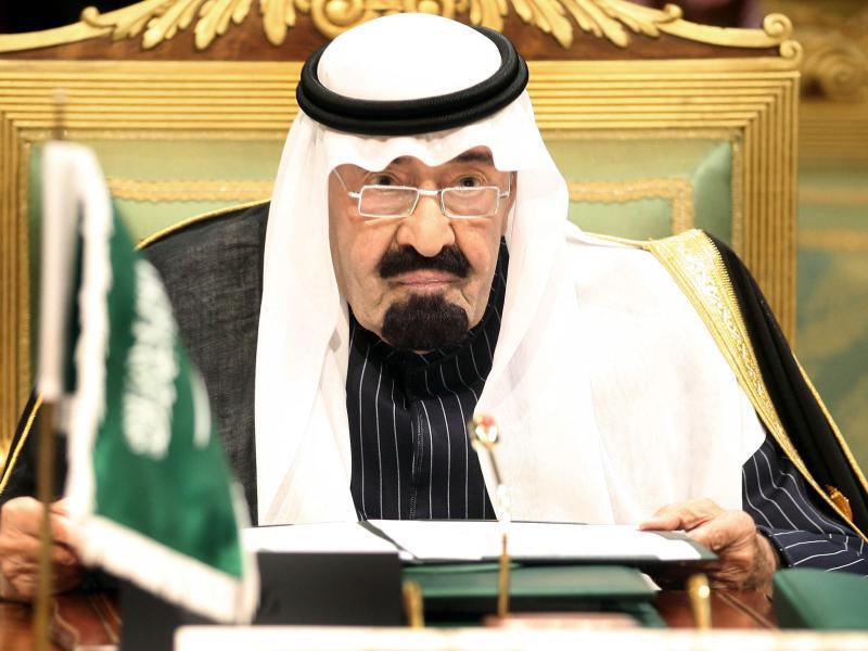Bild zu König Abdullah von Saudi-Arabien