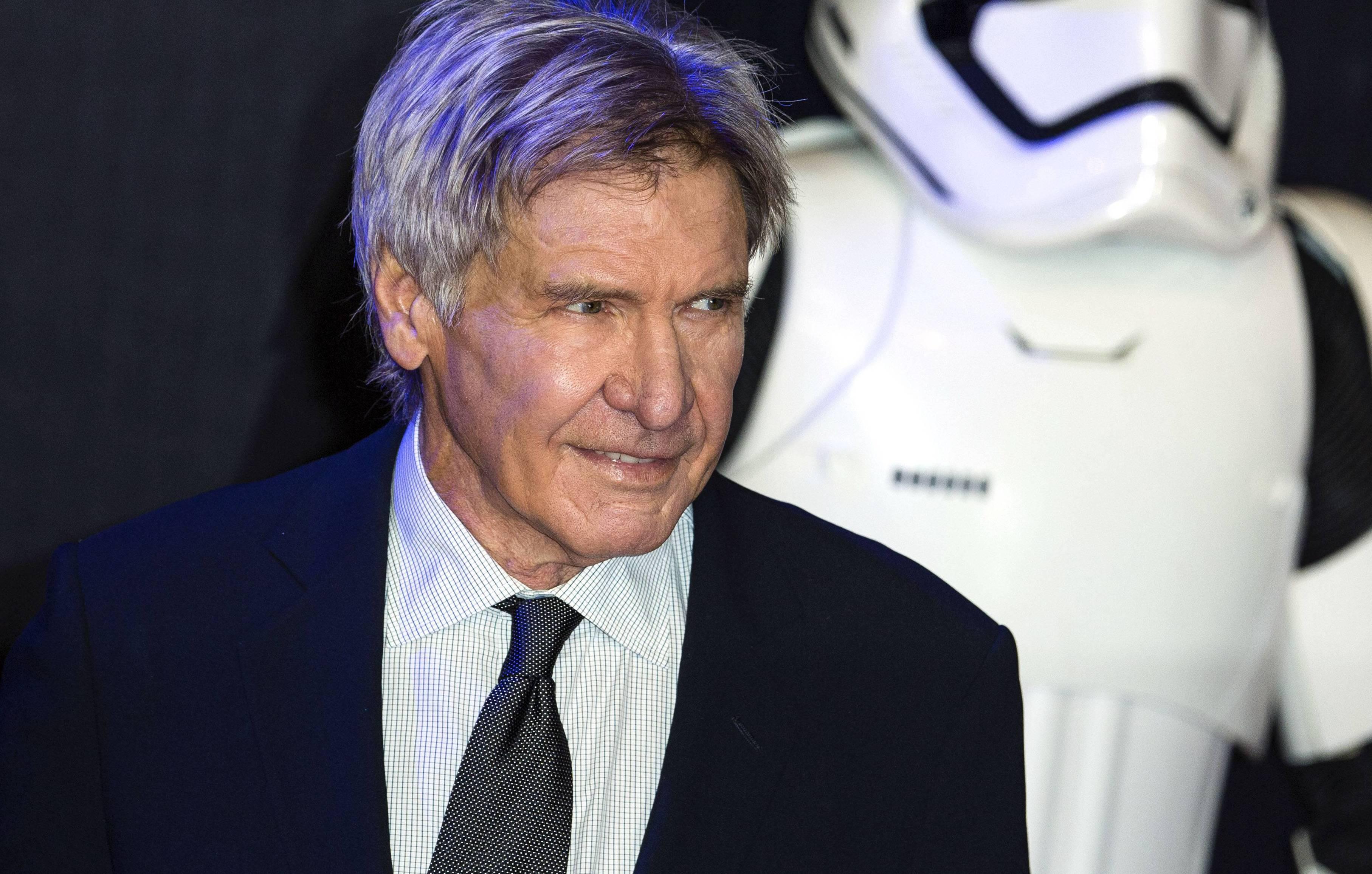 Bild zu Harrison Ford, Han Solo, Star Wars, Casting, Conan O'Brien