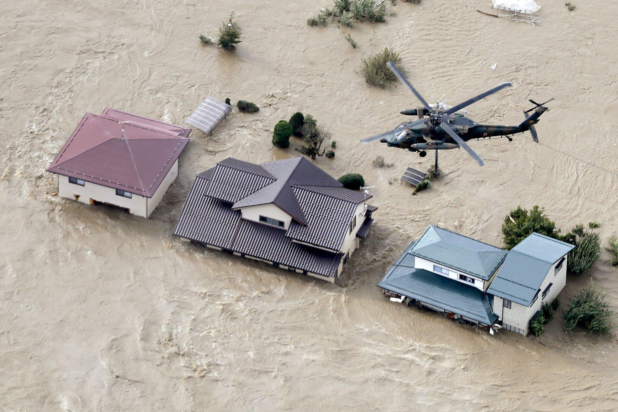 """Bild zu Taifun """"Hagibis"""" in Japan"""
