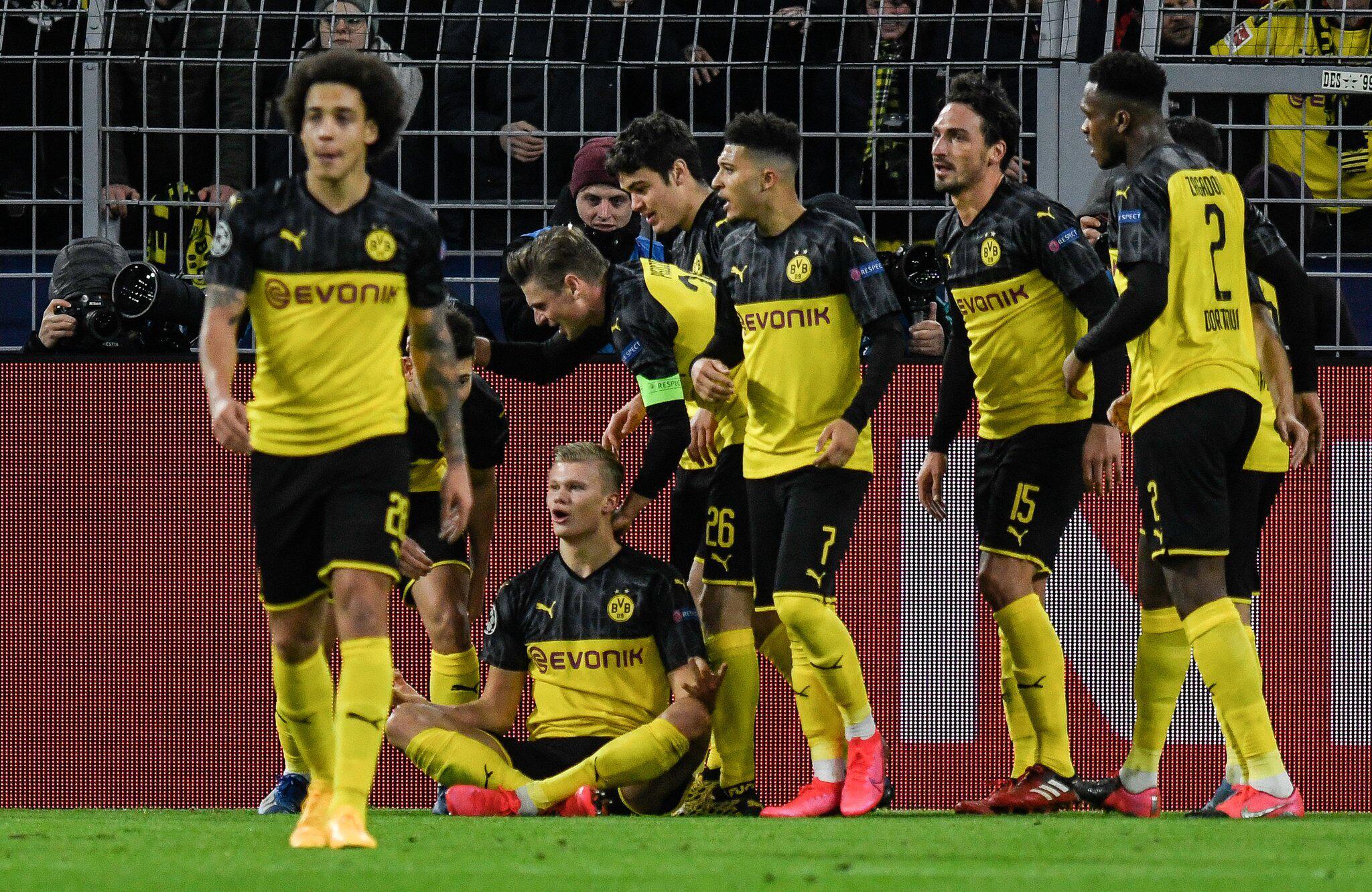 Bild zu Borussia Dortmund - Paris Saint-Germain