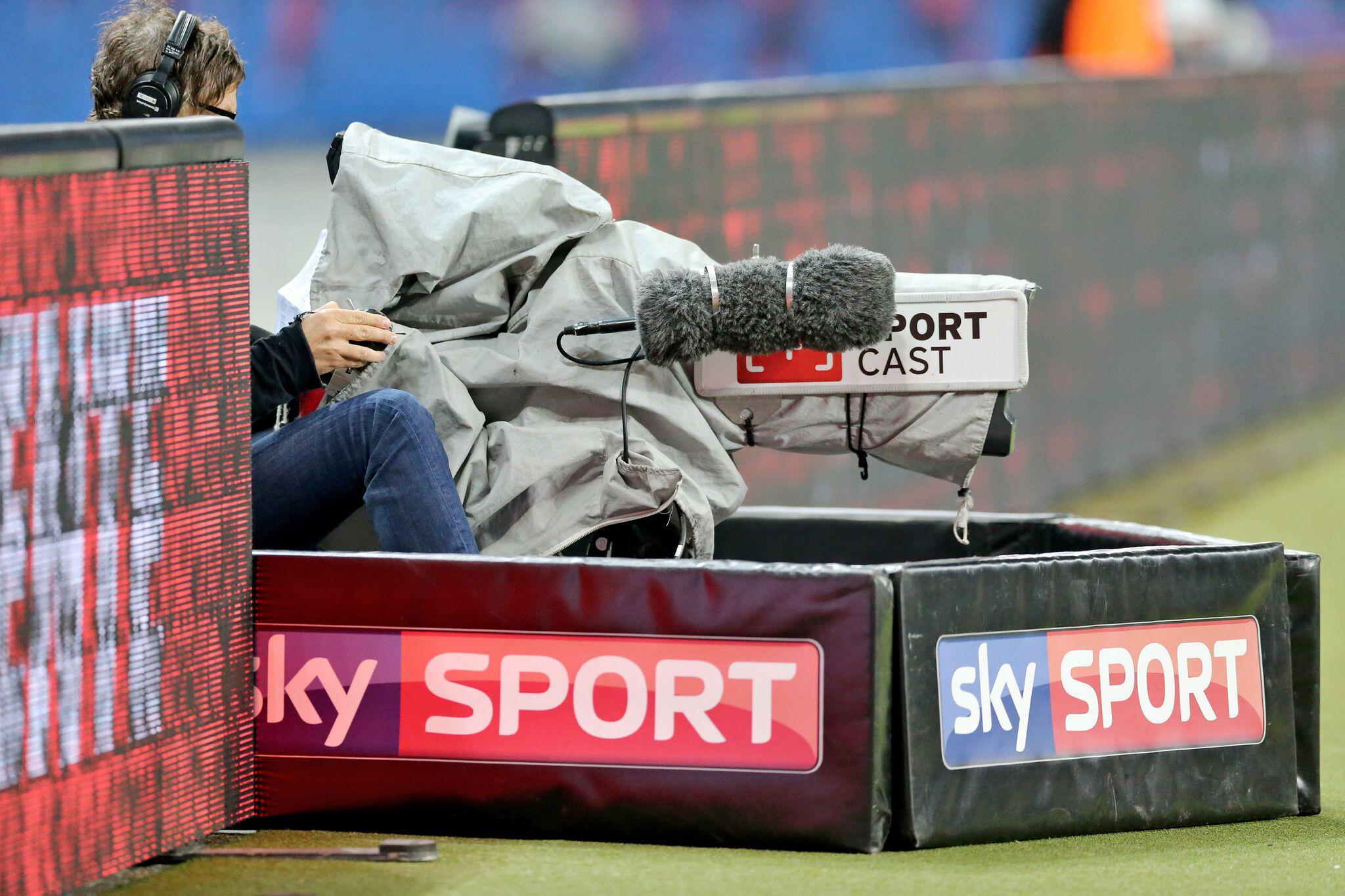 Bild zu Bundesliga-Übertragung, TV, Sky
