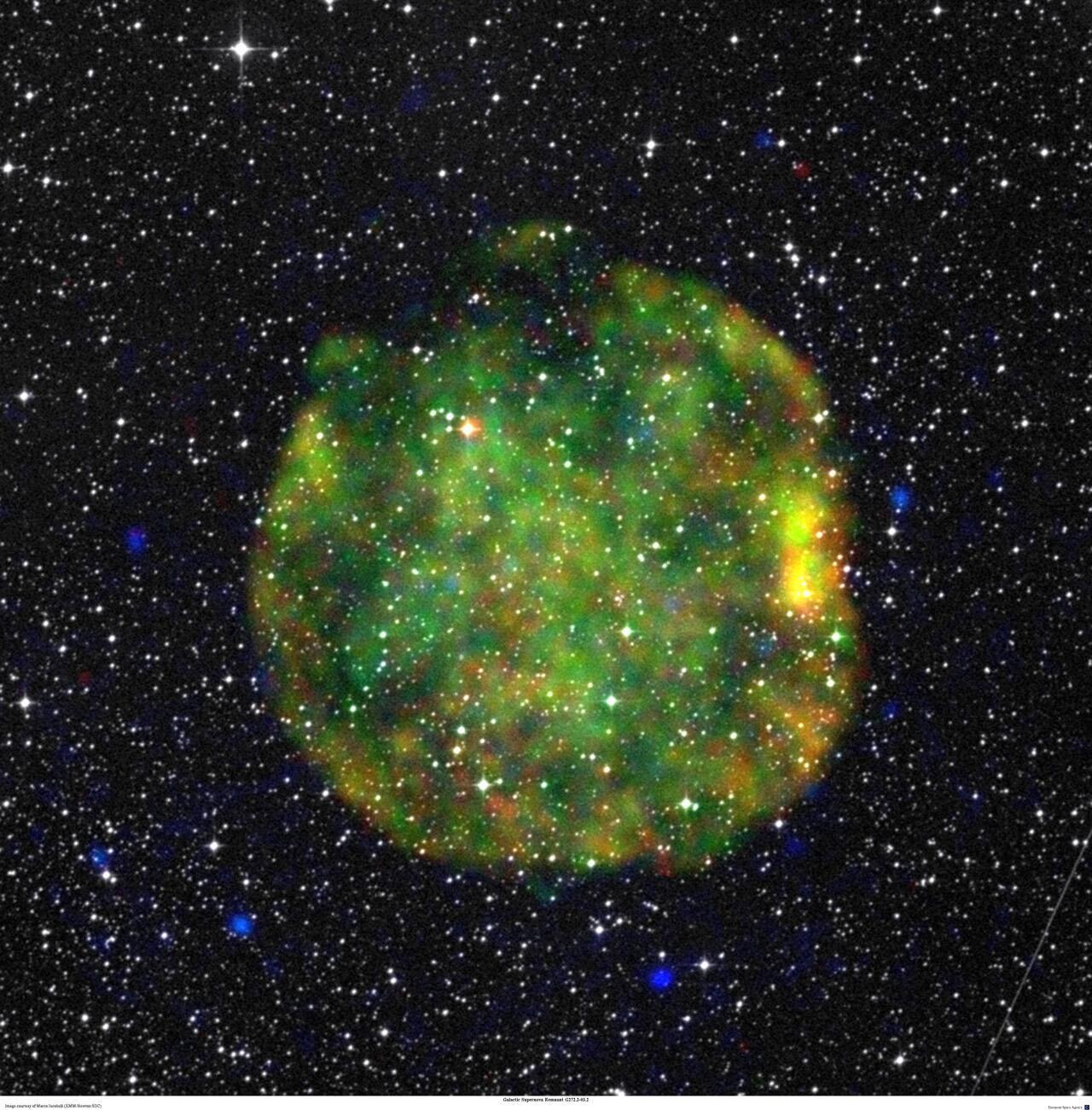 Bild zu Supernova Hülle
