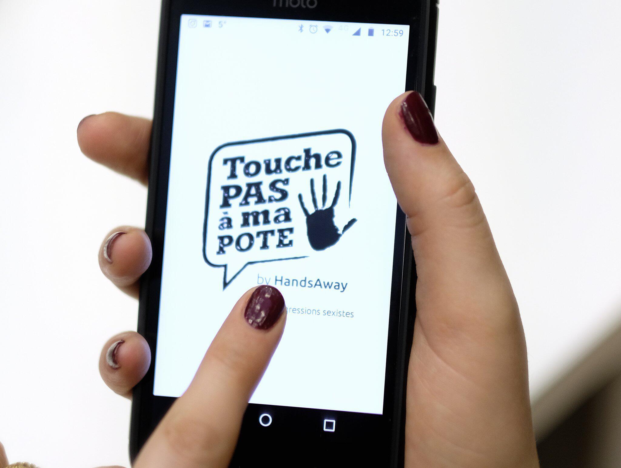 Bild zu Belgische App «Touche pas a ma pote»