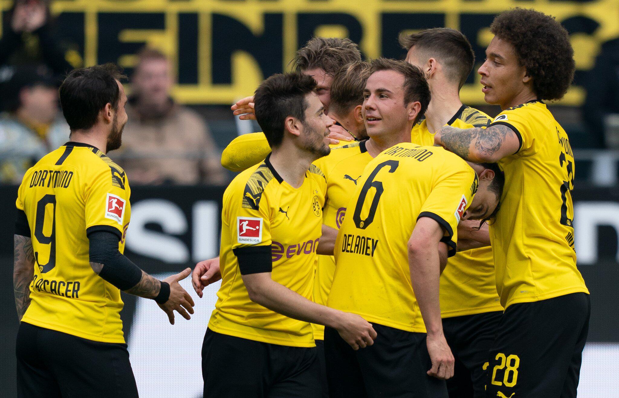 Bild zu Germany Bundesliga - Borussia Dortmund vs Fortuna Duesseldorf