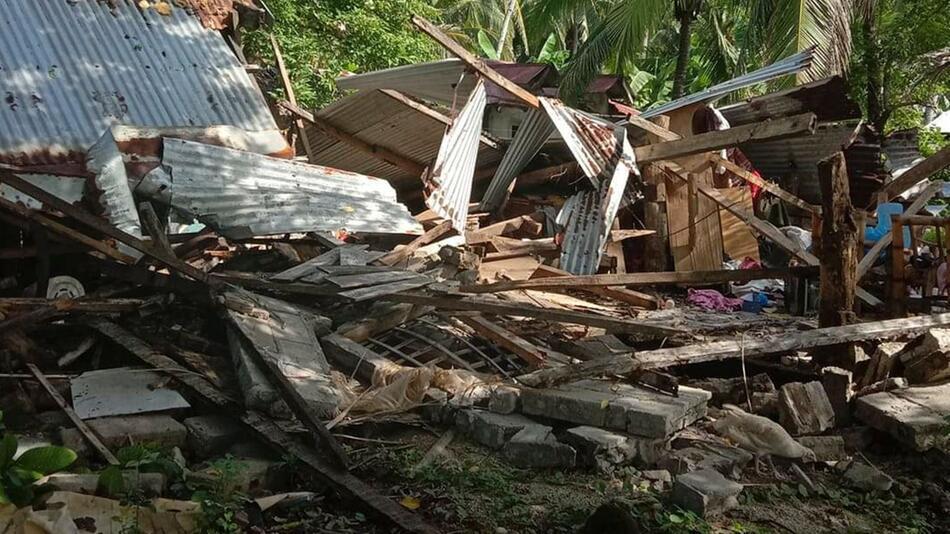 Erdbeben auf den Philippinen