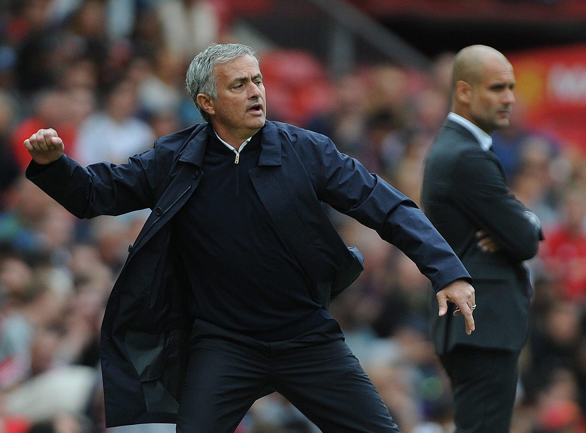Bild zu Manchester United, Manchester City, Jose Mourinho, Pep Guardiola