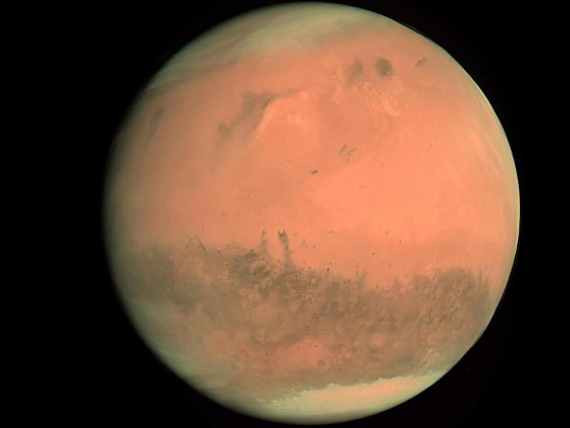 Bild zu Aufnahme vom Mars