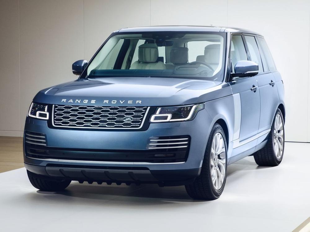 Bild zu Range Rover mit neuem Kühlergrill