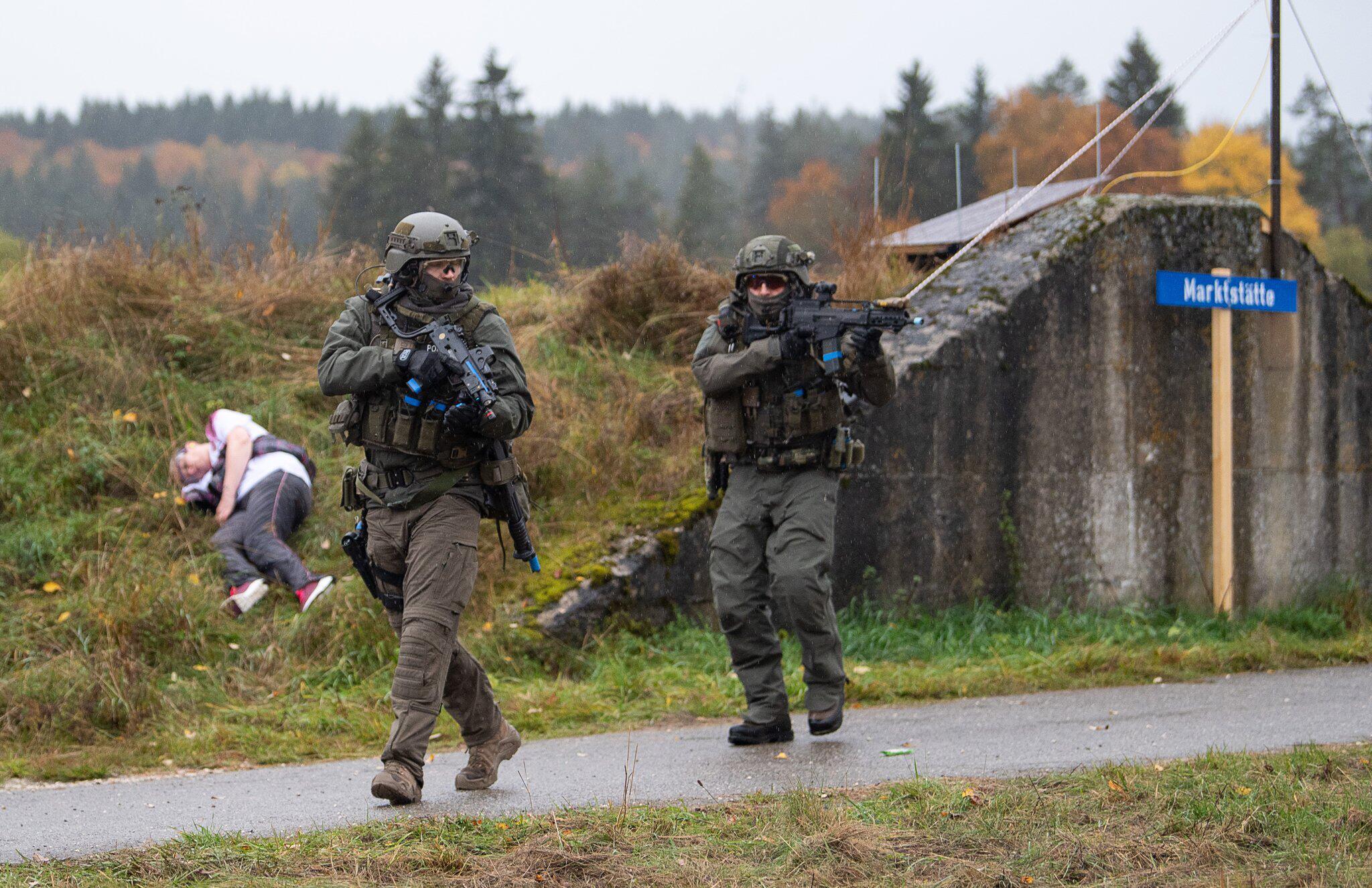 Bild zu Baden-Württembergische Terrorismusabwehr-Übung