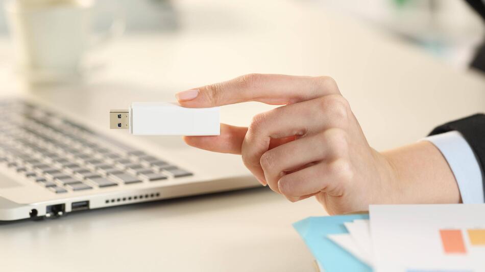 USB-Stick mit Daten aus der Arbeit mitnehmen: Ist das erlaubt?