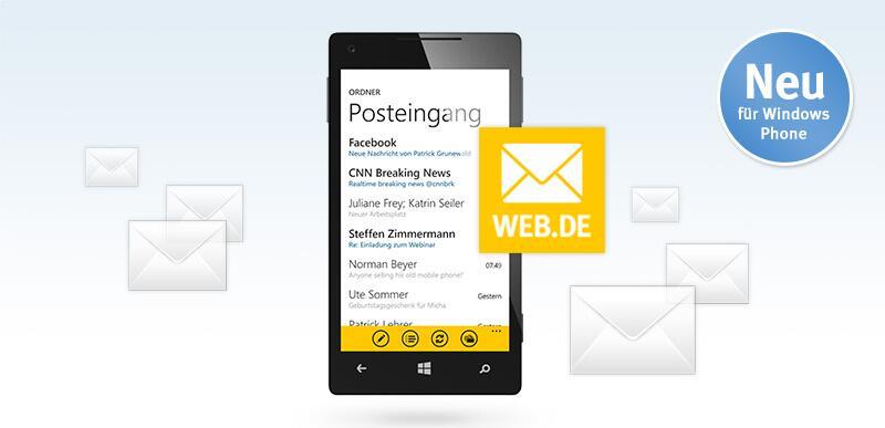 Bild zu WEB.DE Mail-App