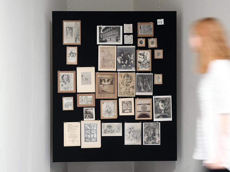 Bild zu Warburg-Ausstellung