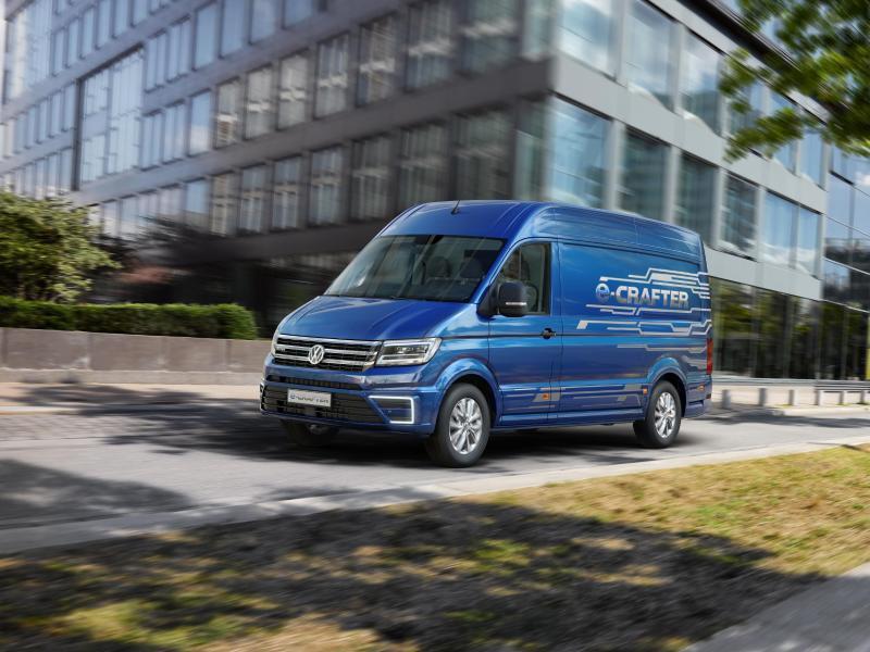 Bild zu Der neue E-Crafter von Volkswagen