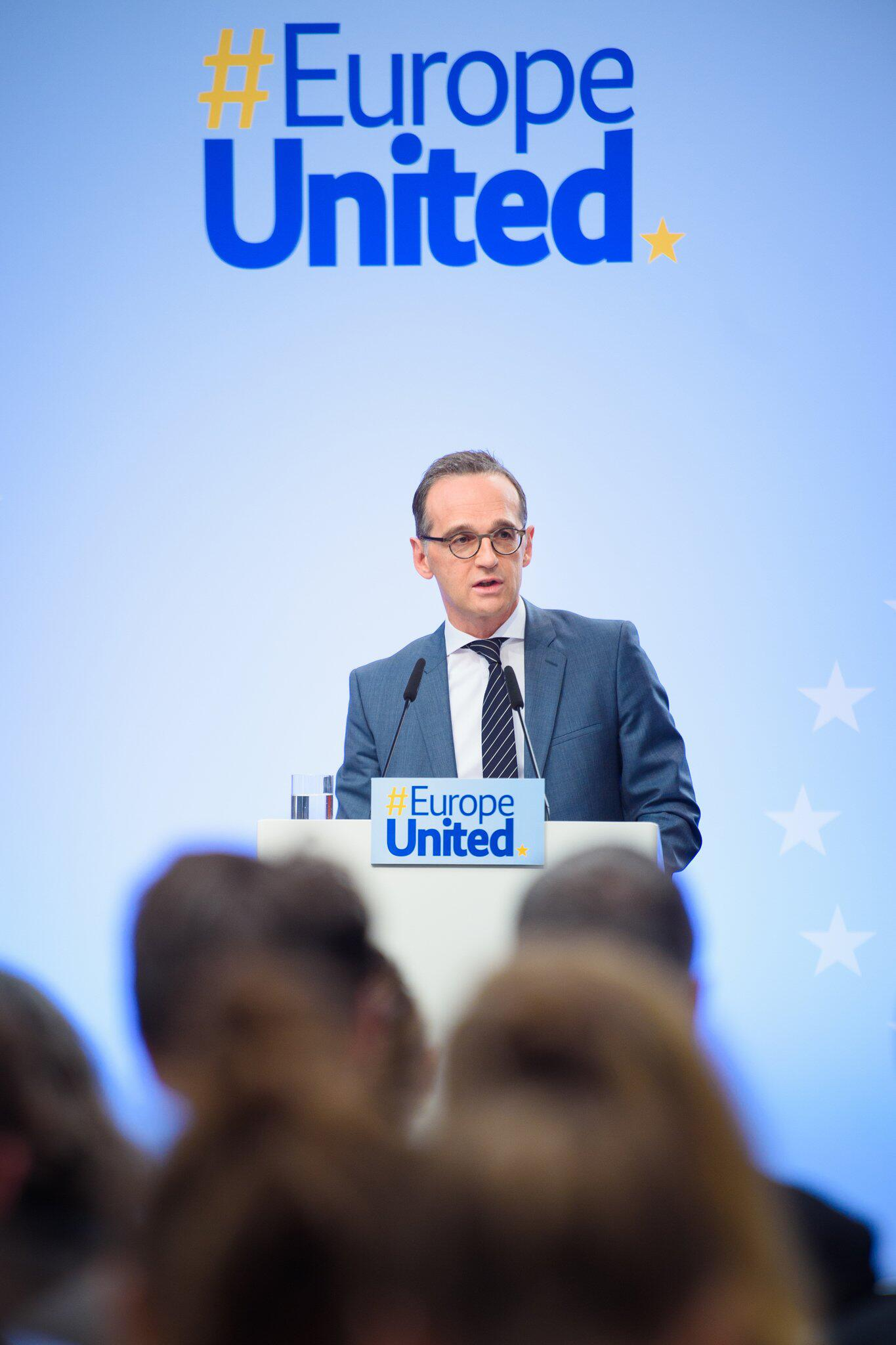 Bild zu Europarede von Außenminister Heiko Maas