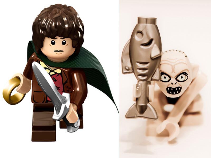 Bild zu Frodo Beutlin und Gollum