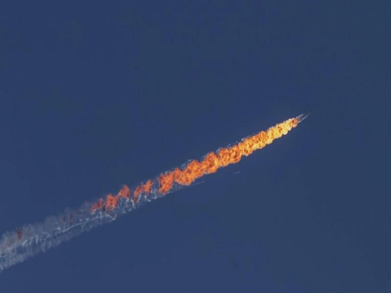 Bild zu Abgeschossener russischer Kampfjet