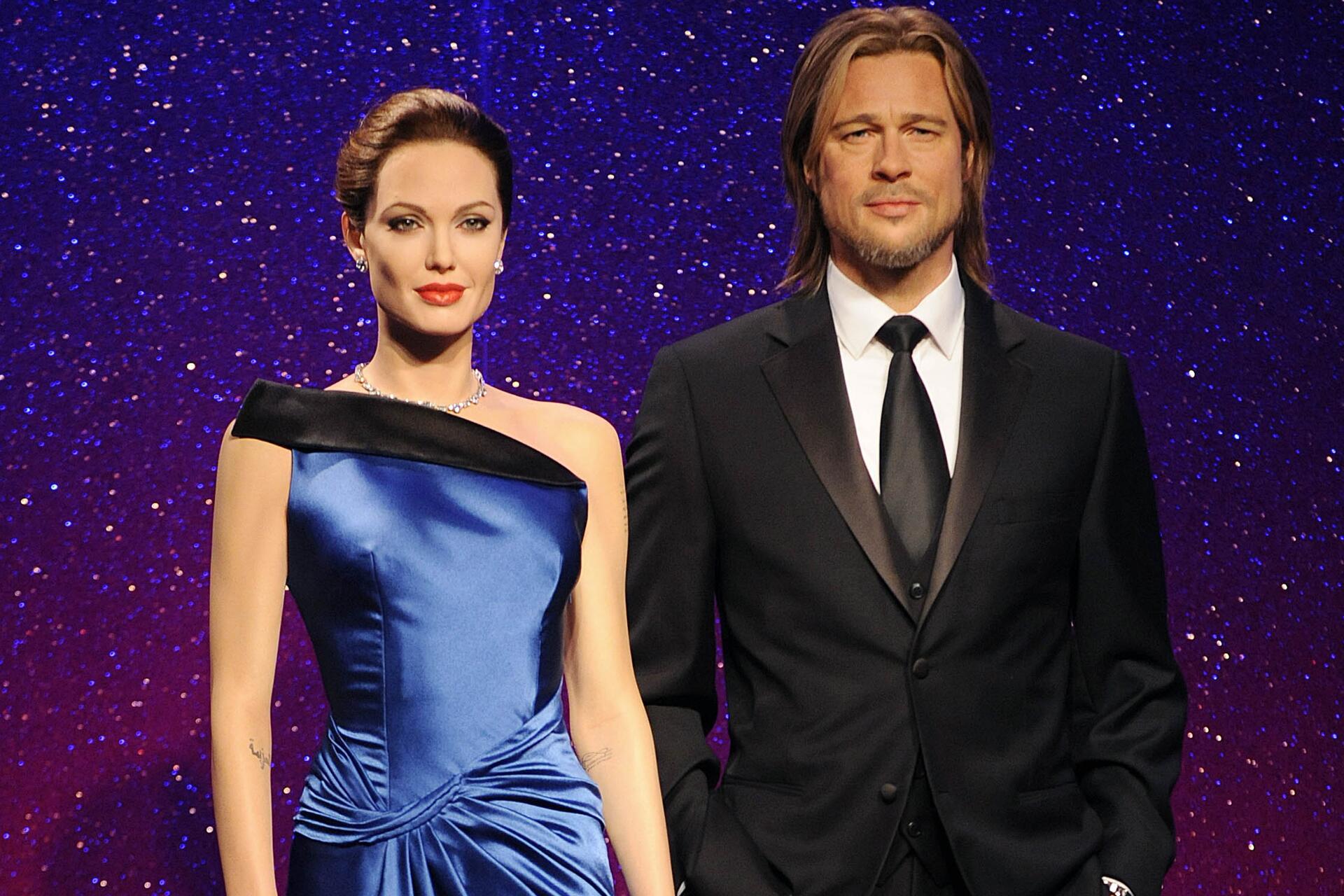 Bild zu Angelina Jolie, Brad Pitt, Wachsfiguren