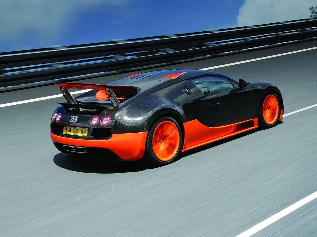 Bild zu In Sachen Geschwindigkeit macht dem Bugatti Veyron keiner was vor