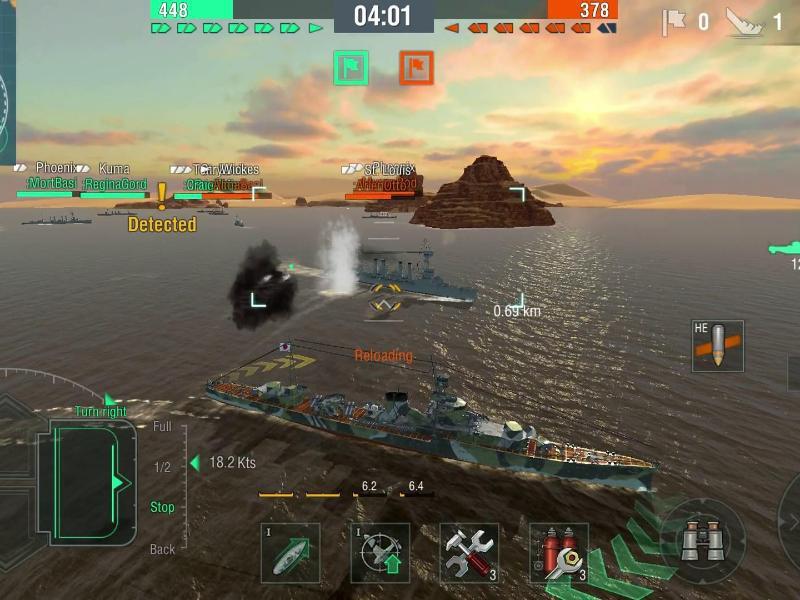 Bild zu Szene aus World of Warships