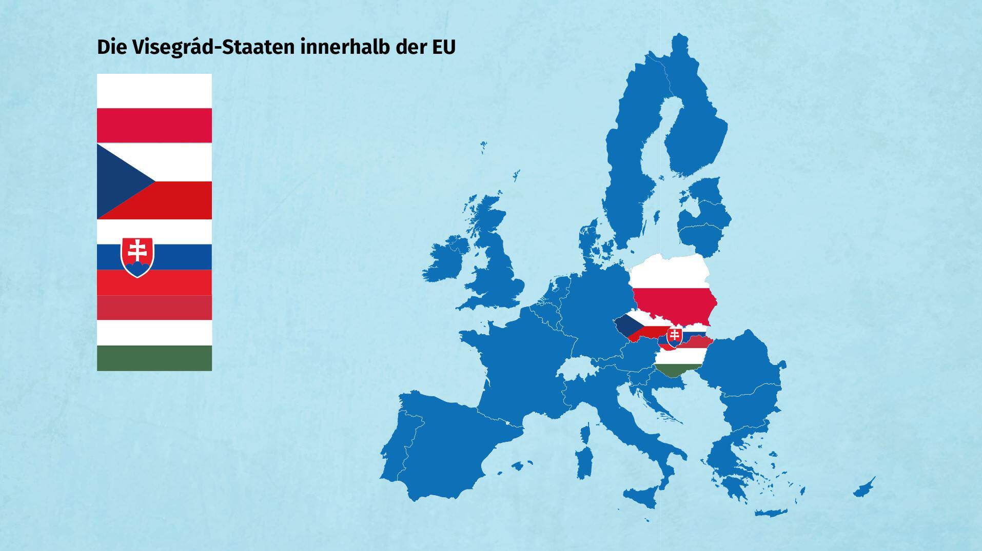 Bild zu Visegrad-Staaten