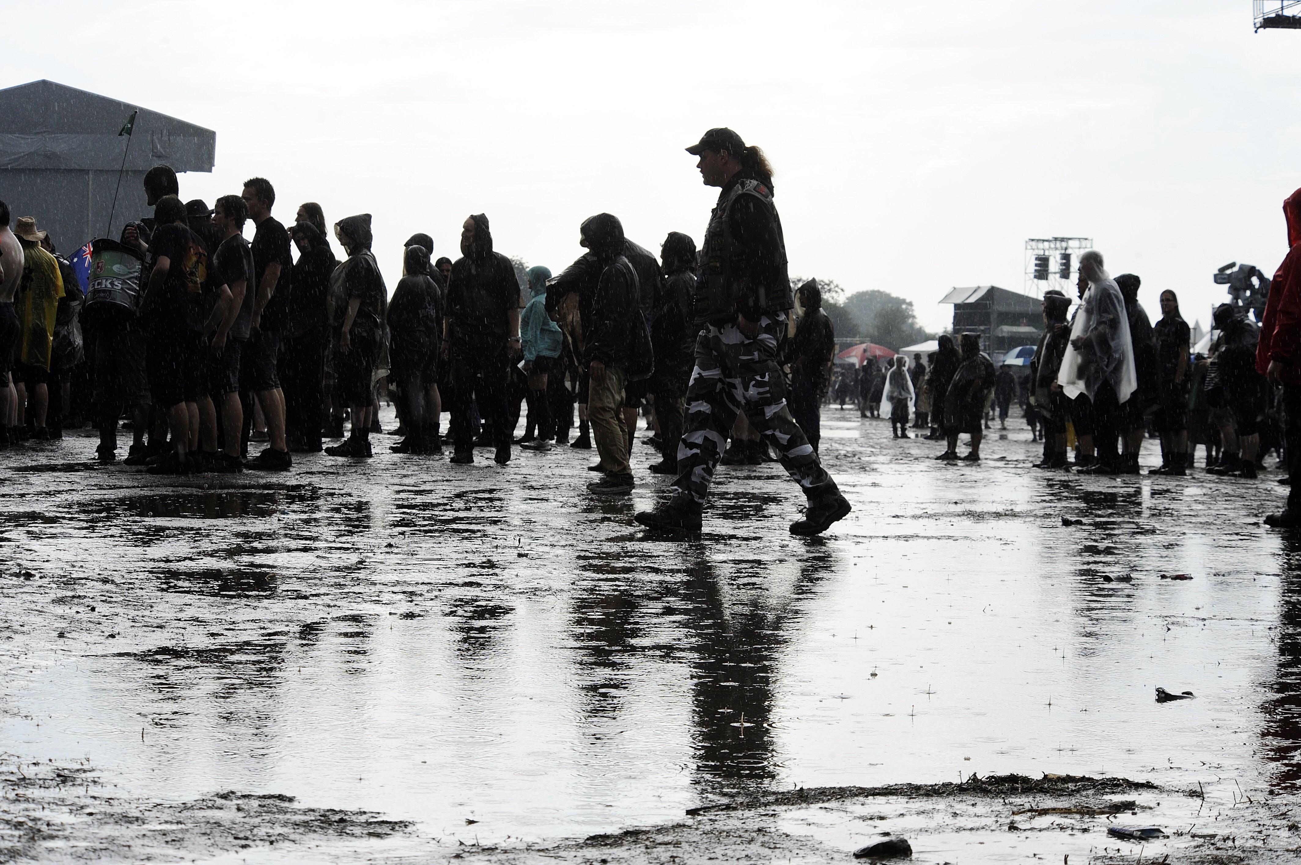 Bild zu Regen-Debakel