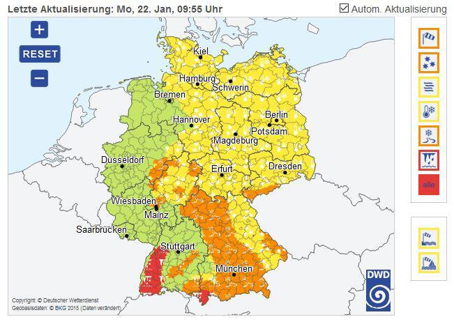 Bild zu Deutscher Wetterdienst DWD