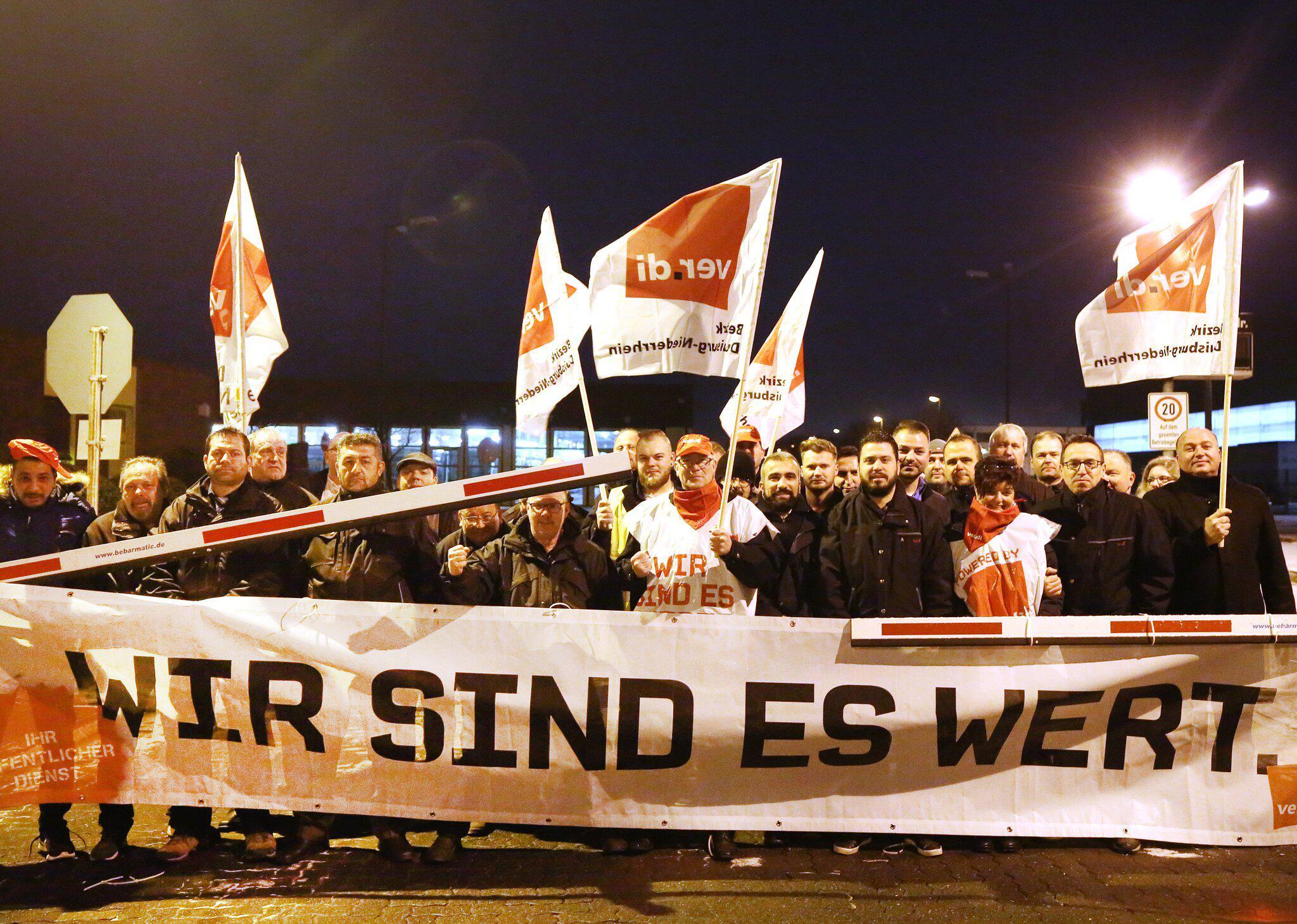 Bild zu Warnstreiks in NRW