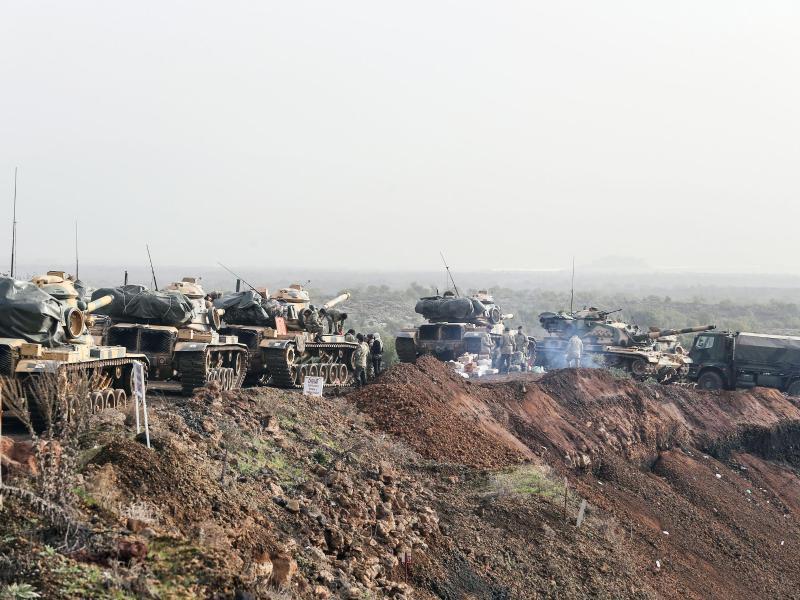 Bild zu Türkische Offensive