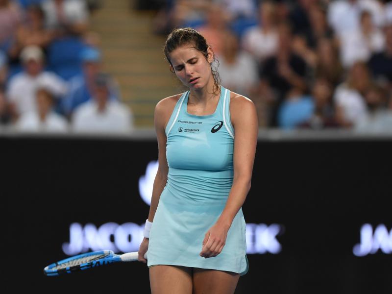 Australian Open Julia Gorges Schon Raus Web De