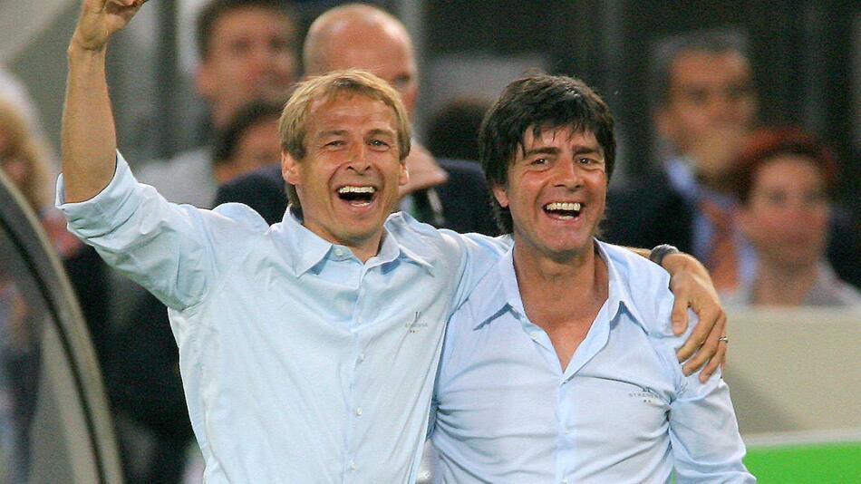 Joachim Löw, Jürgen Klinsmann, Nationalmannschaft