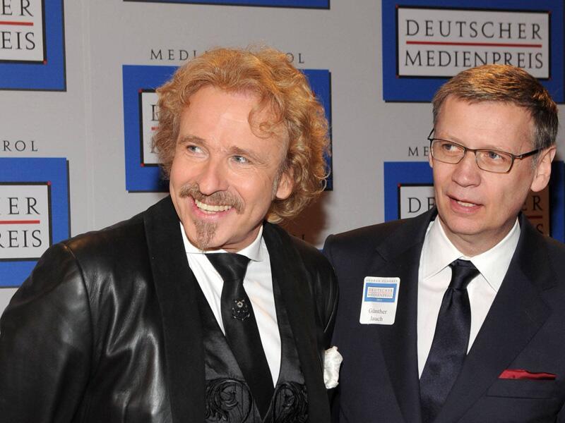 Bild zu Thomas Gottschalk und Günther Jauch