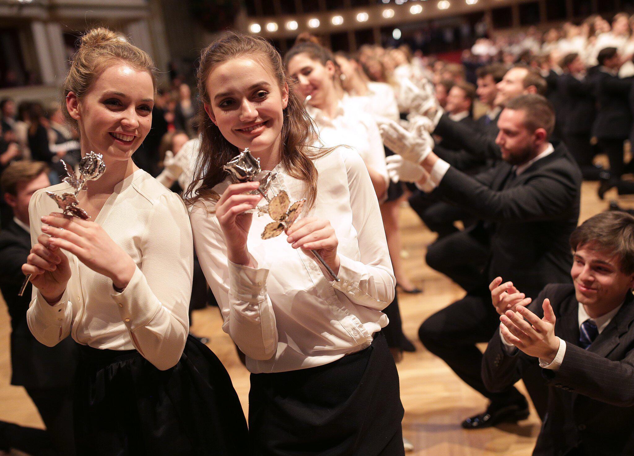 Bild zu Generalprobe für den Wiener Opernball