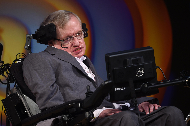 Bild zu Stephen Hawking