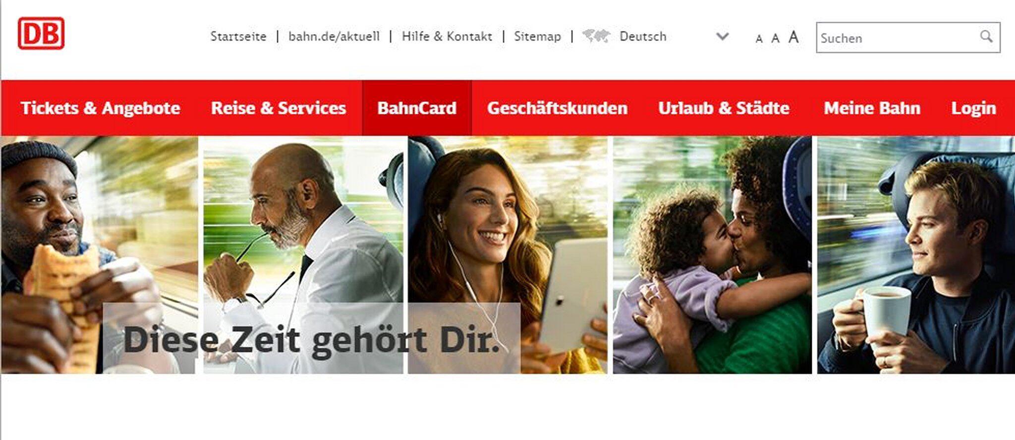 Bild zu Bahn-Werbung mit Müller, Eckes und Rosberg