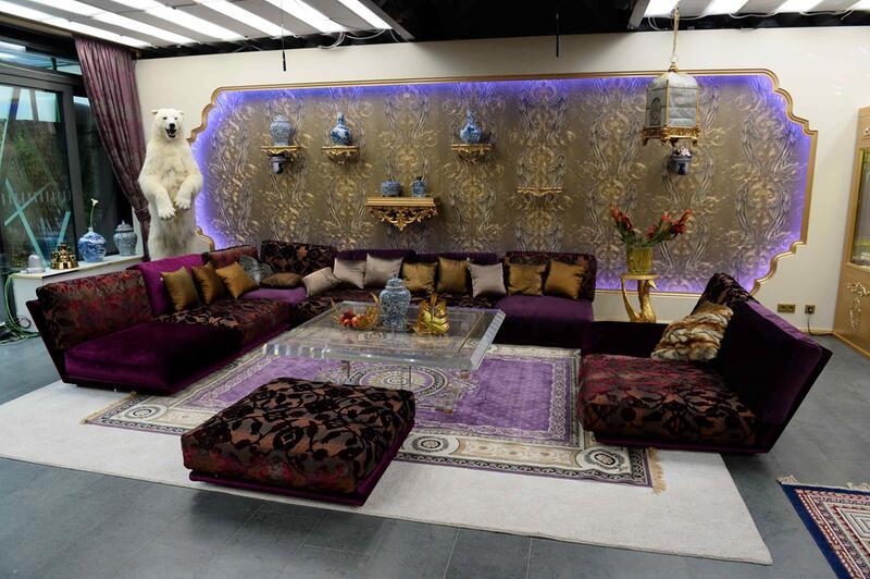 """Bild zu """"Promi Big Brother"""": das Wohnzimmer"""