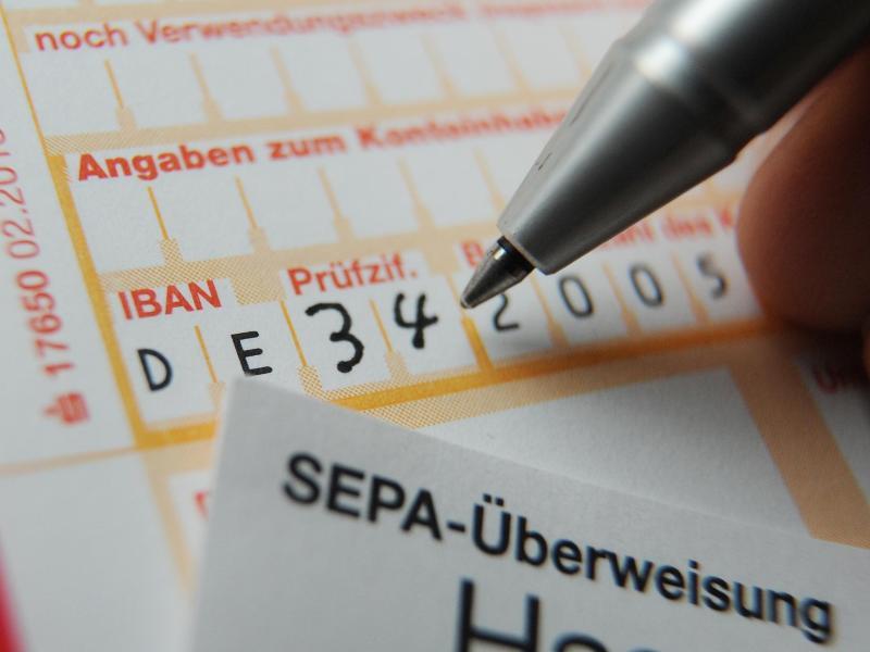 Bild zu Sepa-Überweisung