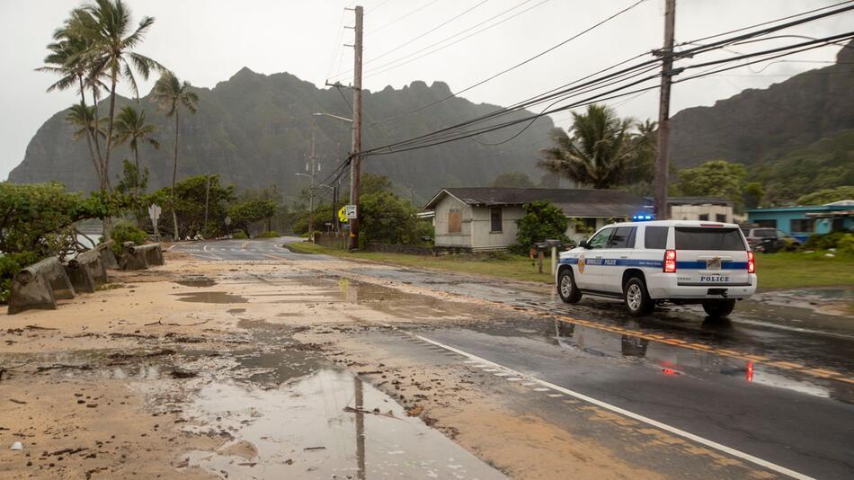 Hurrikan «Douglas» bedroht Hawaii