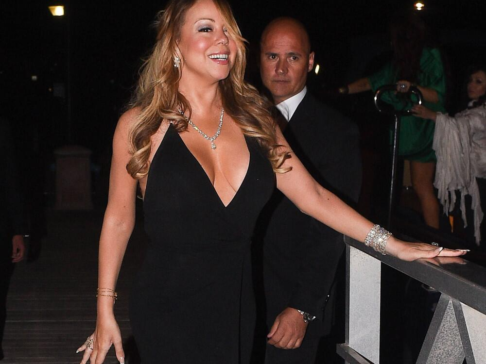 Bild zu Sängerin Mariah Carey