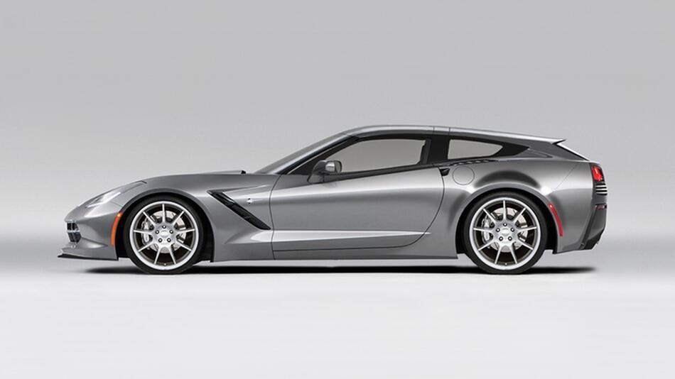 Callaway Aerowagon: Corvette mit neuer Heckpartie